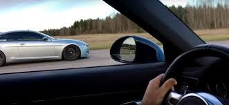 bmw m6 v10 tuned bmw m6 v10 vs porsche 911 turbo s cabriolet drag race ends