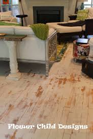 Refinished Hardwood Floors Before And After Pictures by Flower Child Designs Oh Yes I Did Paint My Wood Floors Thank You