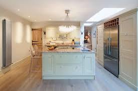 american fridge freezer in kitchen kitchen farmhouse with pendant