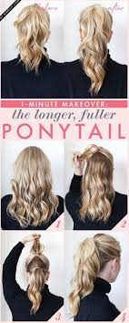 diy hairstyles in 5 minutes top 10 super easy 5 minute hairstyles for busy ladies top inspired
