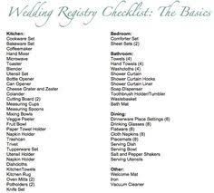 wedding resitry your essential wedding registry checklist weddings wedding and