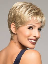 salt and pepper pixie cut human hair wigs air wig by ellen wille lace front wigs com the wig experts