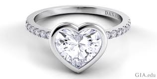 heart shaped engagement ring the heart shaped engagement ring a symbol of