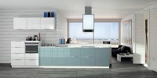 cuisine gris et bleu cuisine bleu et gris pas cher sur cuisine lareduc com
