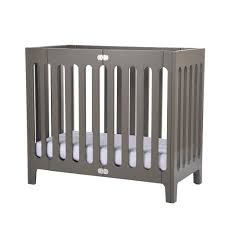 Alma Mini Crib Bloom Alma Mini Crib In Grey Baby Shower