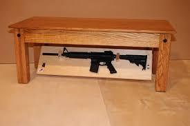 gun safe table best handgun safe quick access coffee table that
