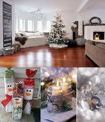 Christmas Decorations Ideas For Home 30 Living Room Christmas Decorations