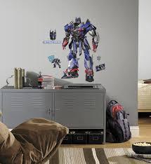 transformers age of extinction optimus prime peel and stick giant transformers age of extinction optimus prime peel and stick giant wall decals