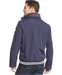 tommy hilfiger core regatta jacket in blue for men lyst