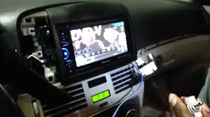 install parking bypass on pioneer avh x3500 dvd car stereo unit