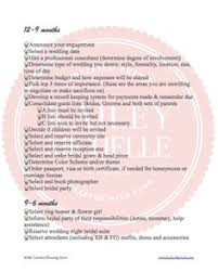 wedding planner degree free printable wedding checklist planning for 6 9 months before