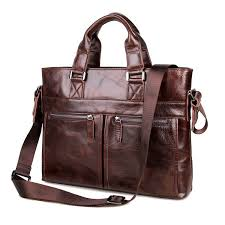 top cow leather style men u0027s laptop bag messenger bag briefcase bag