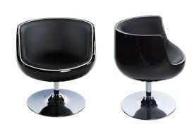 fauteuil design pas cher bien chaises de jardin plastique pas cher 9 fauteuil rtro noir