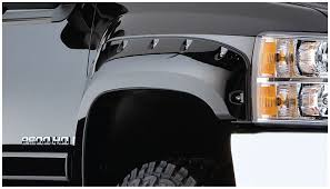 amazon com bushwacker 40924 02 chevrolet pocket style fender