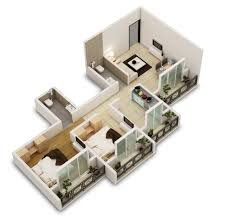 Two Bedroom Floor Plan by 25 Two Bedroom Houseapartment Floor Plans Bedroom Floor Plan Crtable