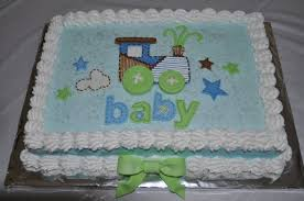 boy baby shower train cake cakecentral com
