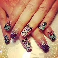 happy birthday themed nail art designs u0026 ideas