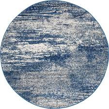 Grey Round Rug Rug Culture Mirage Casandra Dunescape Modern Blue Grey Round Rug