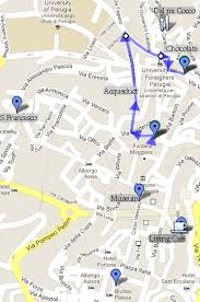 map of perugia what to do in perugia in a one day visit the student guide to