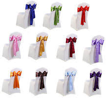 chair covers and sashes 100 wedding chair covers ebay