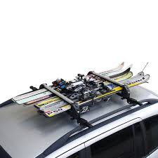 porta snowboard auto ski rack white 6 best ski rack ski snowboard car racks