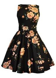 cool dresses american rag printed the shoulder fit flare dress only at