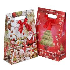 christmas paper bags gift bags flower paper gift bags for food packaging christmas gift