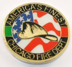 6081 chicago s finest helmet challenge coin chicago