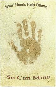 class creations handprint crafts helping hands