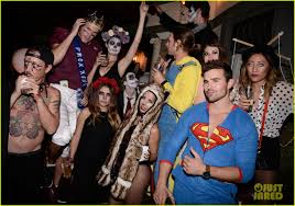 mark salling dresses as jared eng at the jj halloween party