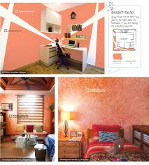 Peach Color Bedroom by Being Peach