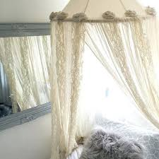 Bohemian Bed Canopy Lace Bed Canopy Canalcafe Co