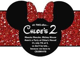 minnie mouse 1st birthday invitations ideas 2 superb cartoons