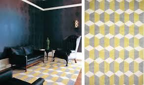 Yellow And Gray Rugs Black White Yellow Yellow And Gray Geometric Rug