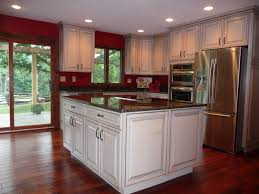 kitchen red kitchen wall paint color with black granite