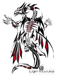 demonic dragon tattoo design tattoobite com