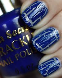 all cracked up with crackle nail polish all lacquered up