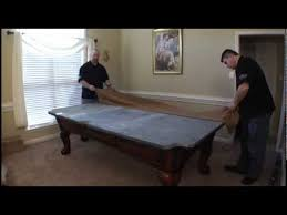How To Refelt A Pool Table Legacy Pool Table Assembly Part 2 Youtube