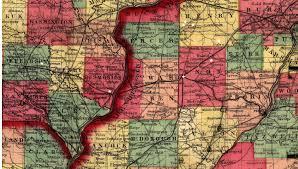 Iowa Illinois Map Jamestown Swedes March 2015