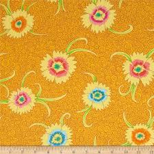 kaffe fassett home decor fabric kaffe fassett dianthus yellow discount designer fabric fabric com