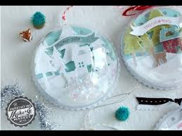 papertrey ink make it market tinsel tags kit ornament how to