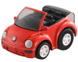volkswagen new beetle red takara tomy choro q q 02 volkswagen beetle cabriolet tomica toy