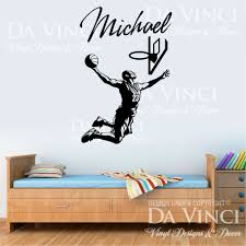 small stickers names promotion shop for promotional sport basketball vinyl wall decal personalized custom boy name player mural art sticker bedroom home decoration