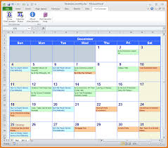 Scope Of Work Template Excel 28 Monthly Calendar Excel Template Image Gallery Excel 2010