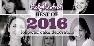 Cake Decorators Most Followed Cake Decorators Of 2016 Cakecentral Com
