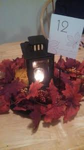 Diy Lantern Centerpiece Weddingbee by Opinions On My Diy Fall Theme Centerpieces Weddingbee