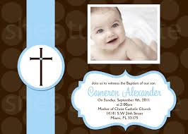Example Of Baptismal Invitation Card Boy Baptism Invitations Reduxsquad Com
