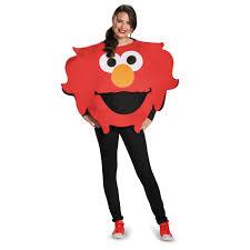 sesame street elmo big head halloween costume size l