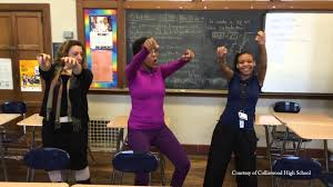 collinwood high school yearbook collinwood high school principal steps up to students