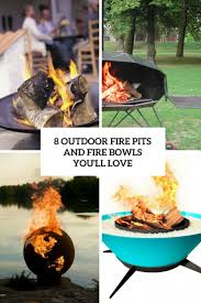 8 outdoor fire pits and fire bowls you u0027ll love digsdigs